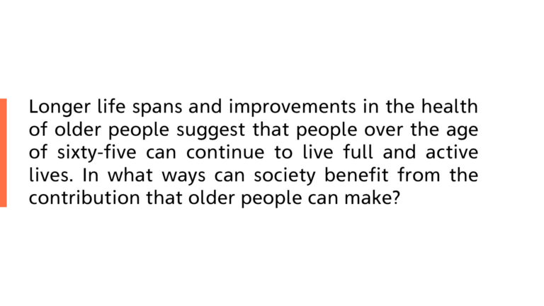 Life spans and improvements in the health of older people