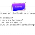 Describe a person who likes to travel by plane IELTS cue card