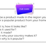 Describe a product made in the region you come from or a popular product from your hometown