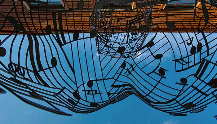 All societies have their own music and art